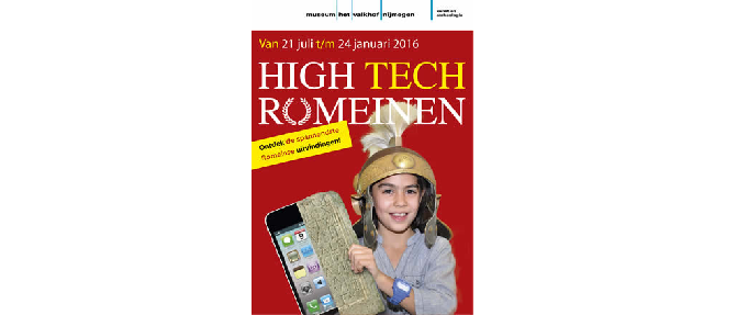 High Tech Romeinen in Museum het Valkhof